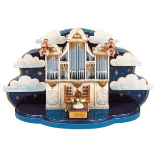 Hubrig organ with little cloud and music box