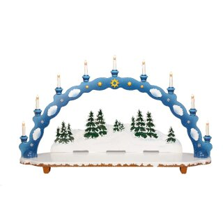 Hubrig candle arch winter kids big