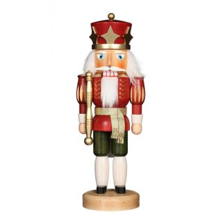 Christian Ulbricht nutcracker king glazed