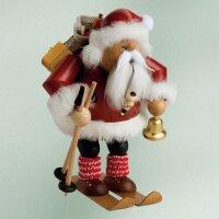 KWO Smoker Santa Claus on skis