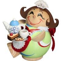 Chubby Smoker chocolate girl
