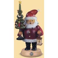 Müller Smoker Santa Claus with tree medium-sized