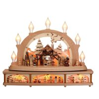 Zeidler candle arch Christmas mood