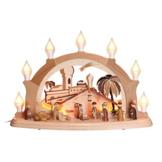 Zeidler candle arch Christi nativity