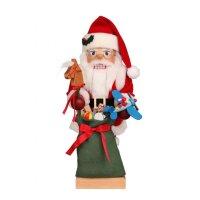 Christian Ulbricht Nussknacker Weihnachtsmann mit Spielzeug