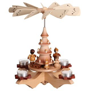 Zeidler chandelier pyramid nature with winter children