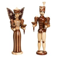 Zeidler angel and miner nature big for candles