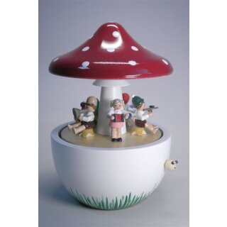 Richard Glässer music box mushroom