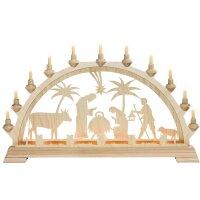 Taulin candle arch motif Christi nativity