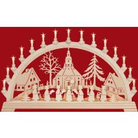 Taulin Lichterbogen Motiv Seiffener Kirche