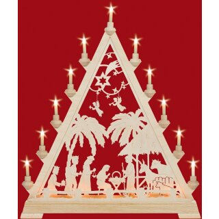 Taulin triangle arch motif Christi nativity