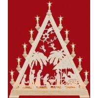 Taulin triangle arch motif Christi nativity