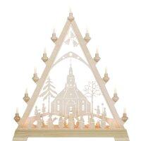 Taulin triangle arch motif church of Seiffen