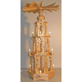 Seidel Christmas pyramid without figures motif forest