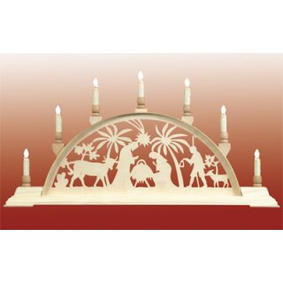 Seidel candle arch Christi nativity