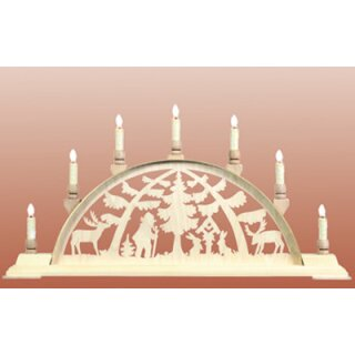 Seidel candle arch motif forest