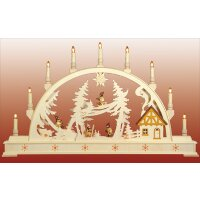 Seidel candle arch winter children - with illuminated...