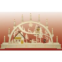 Seidel candle arch ranger house -  with illuminated...