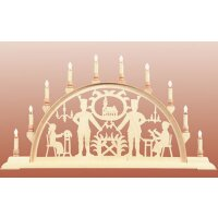 Seidel candle arch miner with church