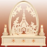 Seidel round arch church of Seiffen