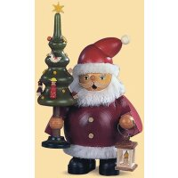 Müller Smoker Santa Claus with tree small