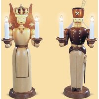 Müller light figure angel and miner big electric