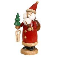 DWU Räuchermann Weihnachtsmann rot, klein