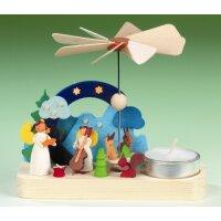 Graupner Teelichtpyramide mit Engel
