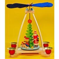 Graupner Tischpyramide mit Weihnachtsmann