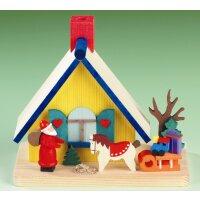 Graupner smoking house with Santa Claus