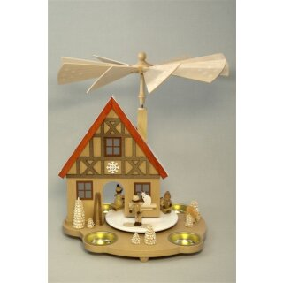 Richard Glässer table pyramid house winter children for...