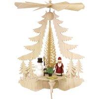 Taulin Pyramide Weihnachtsfiguren bunt