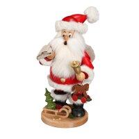 DWU Räuchermann Weihnachtsmann mit Geschenke