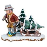 Hubrig winter kids christmas tree thief