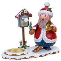 Hubrig smoker Santa Claus with tealight