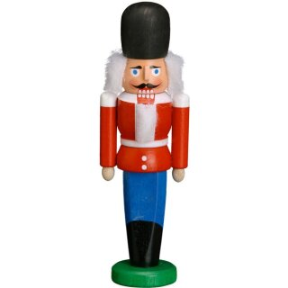 Seiffener Volkskunst eG nutcracker Dane red