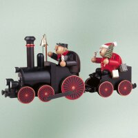 KWO Smoker train driver with railroad 2 parts