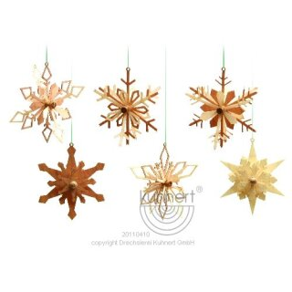 Kuhnert snowflakes 6 parts