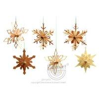 Kuhnert snowflakes 6 parts