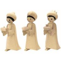 Ulmik Heilige 3 Könige natur 3-teilig