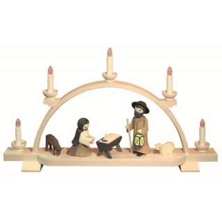 Ulmik candle arch holy family pickled