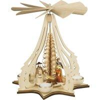 Taulin Teelichtpyramide Christgeburt