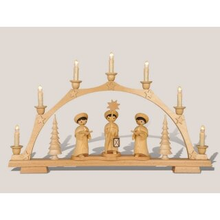 Rauta candle arch carolers electric