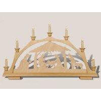 Rauta candle arch manger