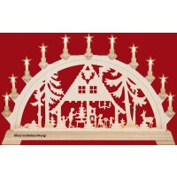 Taulin candle arch forest house