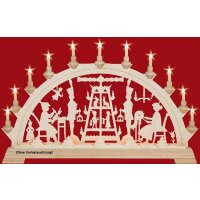 Taulin candle arch pyramid - without front lighting