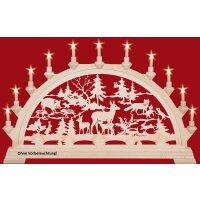 Taulin candle arch forest idyll