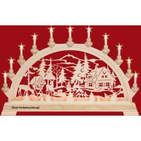 Taulin candle arch  ranger house