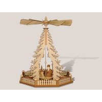 Rauta Tree pyramid Santa Claus