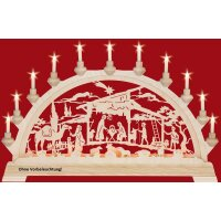 Taulin candle arch Christi nativity with camel